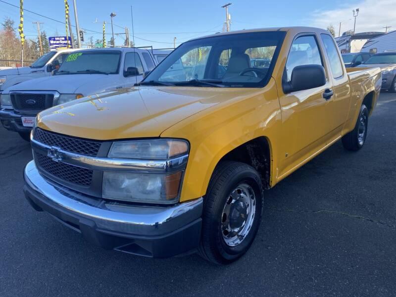 2006 Chevrolet Colorado for sale at Salem Motorsports in Salem OR