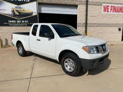 2016 Nissan Frontier for sale at KAYALAR MOTORS Mechanic in Houston TX