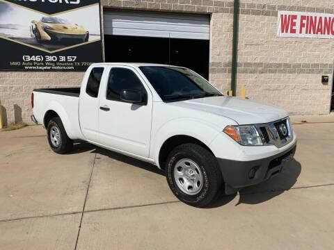 2016 Nissan Frontier for sale at KAYALAR MOTORS - ECUFAST HOUSTON in Houston TX