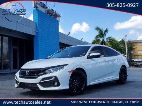 2020 Honda Civic for sale at Tech Auto Sales in Hialeah FL