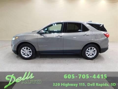 2018 Chevrolet Equinox for sale at Dells Auto in Dell Rapids SD