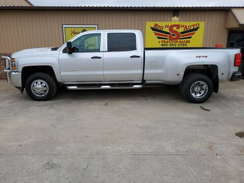 2018 Chevrolet Silverado 3500HD for sale at BIG 'S' AUTO & TRACTOR SALES in Blanchard OK