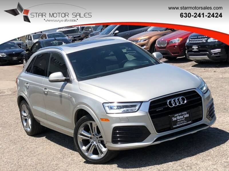 2016 Audi Q3 for sale at Star Motor Sales in Downers Grove IL