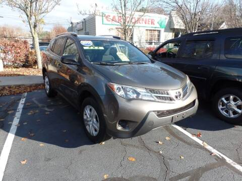 2014 Toyota RAV4 for sale at CAR CORNER RETAIL SALES in Manchester CT