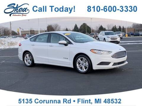 2018 Ford Fusion Hybrid for sale at Jamie Sells Cars 810 in Flint MI