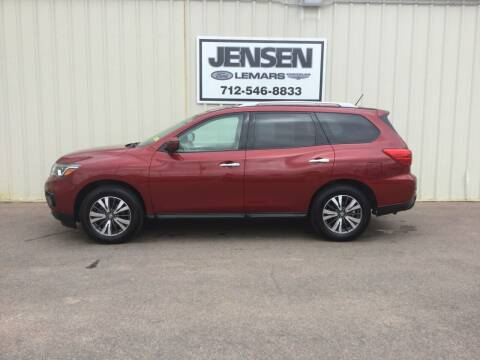 2017 Nissan Pathfinder for sale at Jensen's Dealerships in Sioux City IA