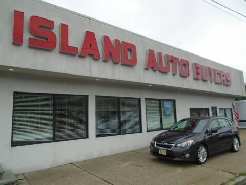 2012 Subaru Impreza for sale at Island Auto Buyers in West Babylon NY
