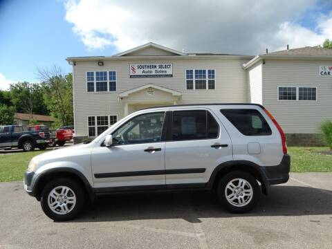 2004 Honda CR-V for sale at SOUTHERN SELECT AUTO SALES in Medina OH