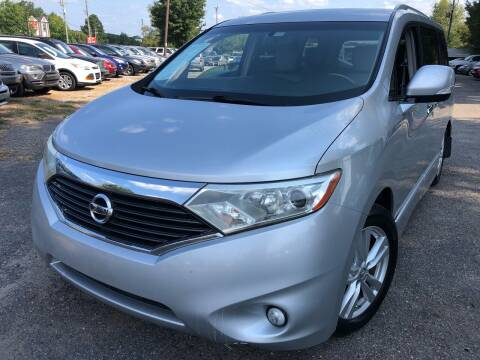 2011 Nissan Quest for sale at Atlantic Auto Sales in Garner NC