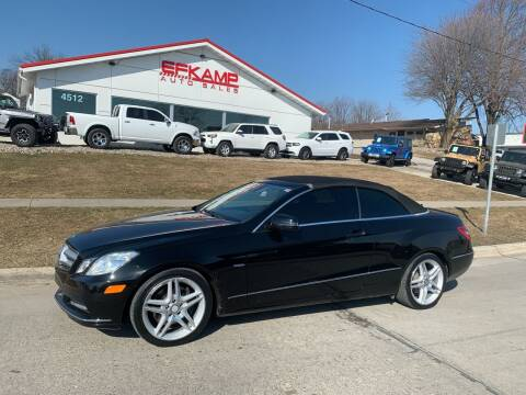 2012 Mercedes-Benz E-Class for sale at Efkamp Auto Sales LLC in Des Moines IA