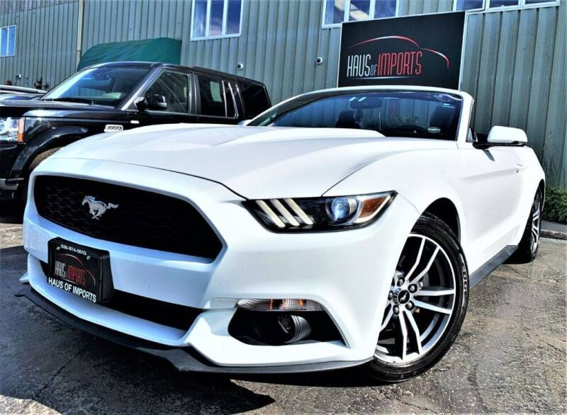 2016 Ford Mustang for sale at Haus of Imports in Lemont IL