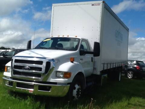 2015 Ford F-650 for sale at Garys Sales & SVC in Caribou ME