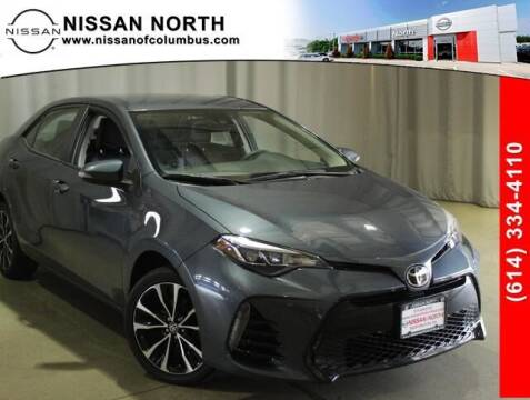 2017 Toyota Corolla for sale at Auto Center of Columbus in Columbus OH