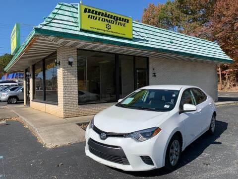 2016 Toyota Corolla for sale at Diana Rico LLC in Dalton GA