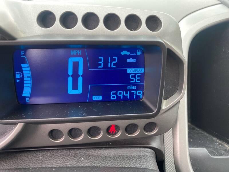 2014 Chevrolet Sonic LT Manual 4dr Sedan - Fredericksburg PA
