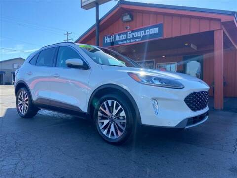 2020 Ford Escape for sale at HUFF AUTO GROUP in Jackson MI