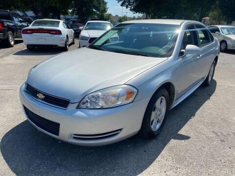 2009 Chevrolet Impala for sale at Atlantic Auto Sales in Garner NC