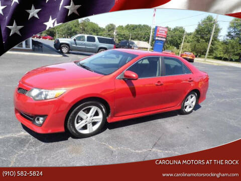 2012 Toyota Camry for sale at Carolina Motors at the Rock in Rockingham NC