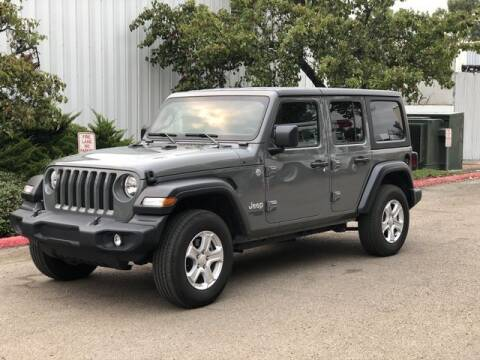 2019 Jeep Wrangler Unlimited for sale at AUTOLOGIC in San Diego CA