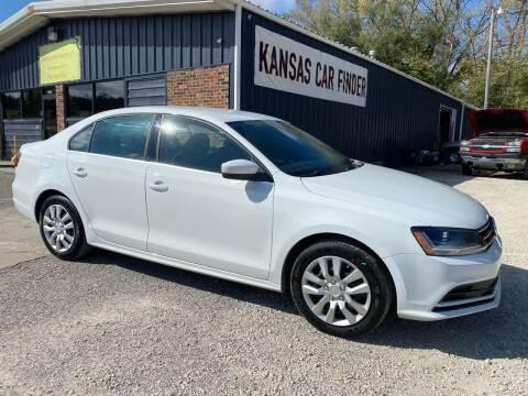 2017 Volkswagen Jetta for sale at Kansas Car Finder in Valley Falls KS
