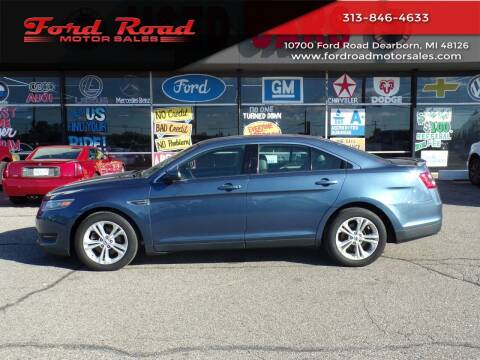 2018 Ford Taurus for sale at Ford Road Motor Sales in Dearborn MI