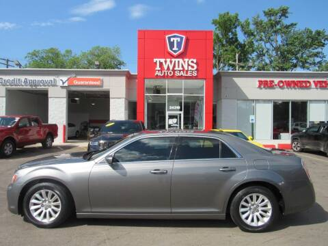2012 Chrysler 300 for sale at Twins Auto Sales Inc in Detroit MI