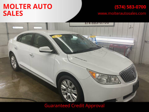 2013 Buick LaCrosse for sale at MOLTER AUTO SALES in Monticello IN