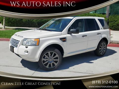 2008 Land Rover LR2 for sale at WS AUTO SALES INC in El Cajon CA