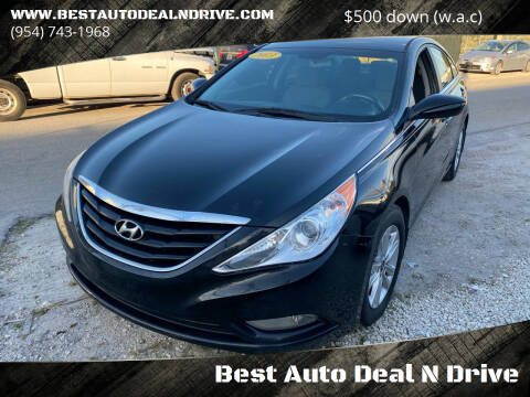 2013 Hyundai Sonata for sale at Best Auto Deal N Drive in Hollywood FL