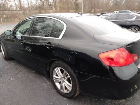 2011 Infiniti G25 Sedan for sale at AFFORDABLE DISCOUNT AUTO in Humboldt TN