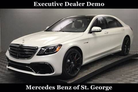 2020 Mercedes-Benz S-Class for sale at Stephen Wade Pre-Owned Supercenter in Saint George UT