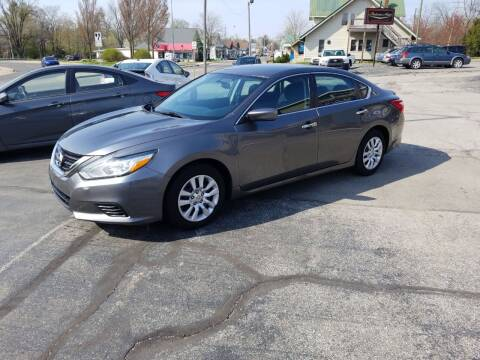 2016 Nissan Altima for sale at Indiana Auto Sales Inc in Bloomington IN
