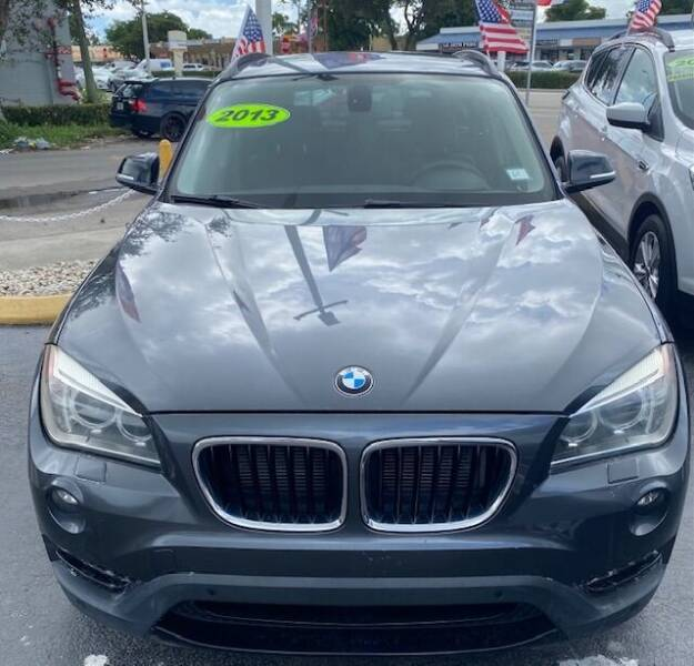 2013 BMW X1 for sale at Navarro Auto Motors in Hialeah FL