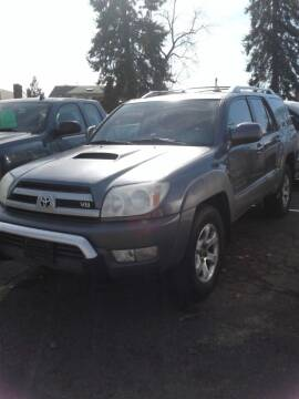2004 Toyota 4Runner for sale at 2 Way Auto Sales in Spokane Valley WA