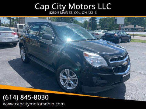 2011 Chevrolet Equinox for sale at Cap City Motors LLC in Columbus OH