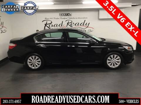 2015 Honda Accord for sale at Road Ready Used Cars in Ansonia CT