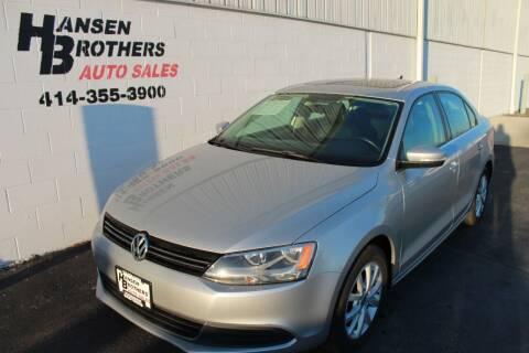 2013 Volkswagen Jetta for sale at HANSEN BROTHERS AUTO SALES in Milwaukee WI