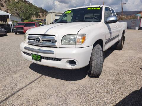 2005 Toyota Tundra for sale at Canyon View Auto Sales in Cedar City UT