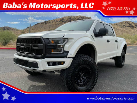 2018 Ford F-150 for sale at Baba's Motorsports, LLC in Phoenix AZ