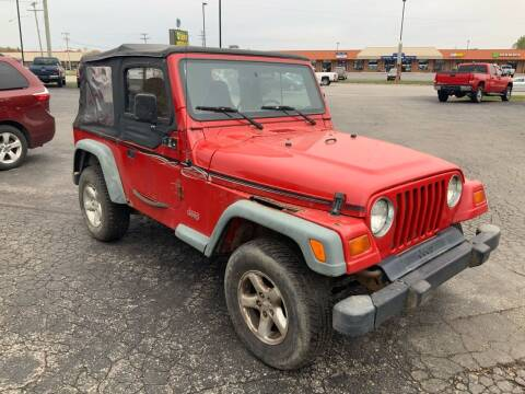 1999 Jeep Wrangler for sale at Stein Motors Inc in Traverse City MI