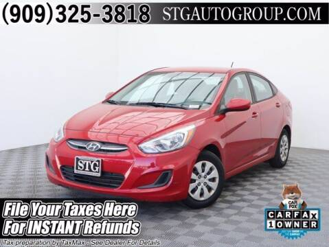 2016 Hyundai Accent for sale at STG Auto Group in Montclair CA