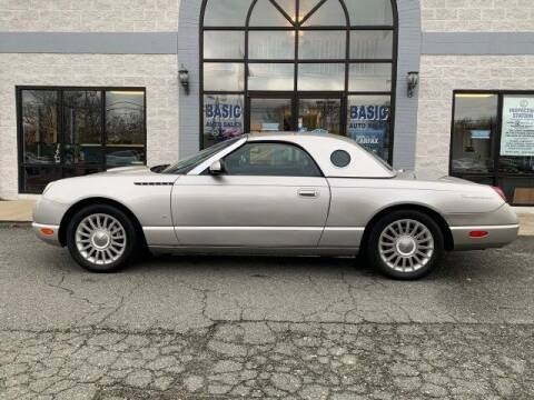 2004 Ford Thunderbird for sale at Cj king of car loans/JJ's Best Auto Sales in Troy MI