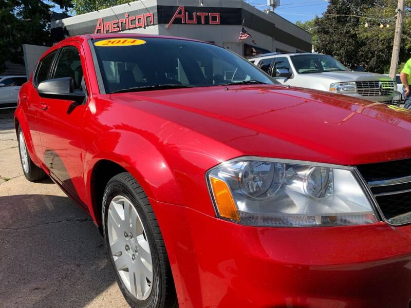 2014 Dodge Avenger for sale at AMERICAN AUTO in Milwaukee WI