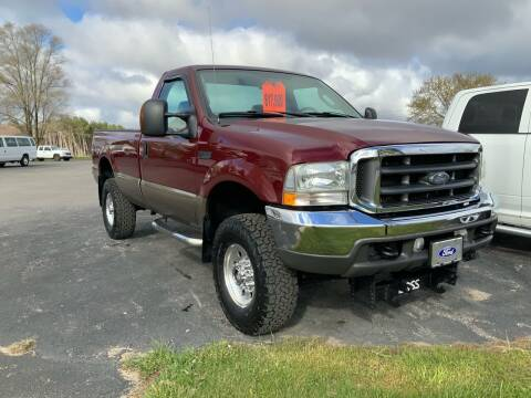 2004 Ford F-350 Super Duty for sale at Stein Motors Inc in Traverse City MI