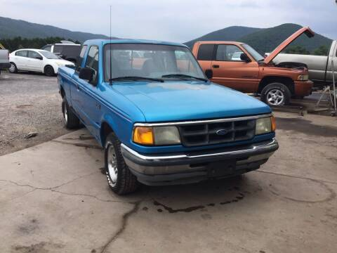 1994 Ford Ranger for sale at Troys Auto Sales in Dornsife PA