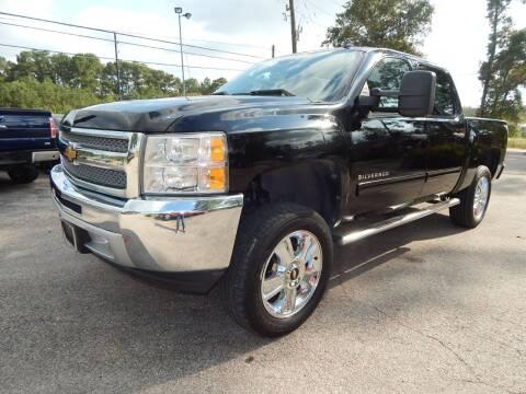 2012 Chevrolet Silverado 1500 for sale at Medford Motors Inc. in Magnolia TX