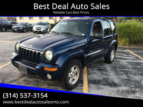 2004 Jeep Liberty for sale at Best Deal Auto Sales in Saint Charles MO