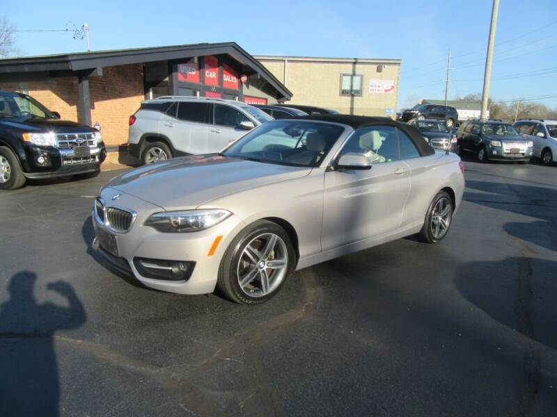 2017 BMW 2 Series for sale at Riverside Motor Company in Fenton MO