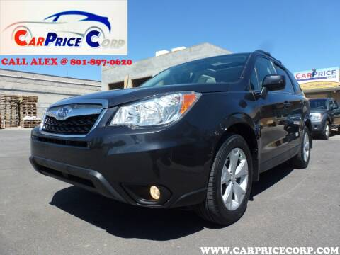 2015 Subaru Forester for sale at CarPrice Corp in Murray UT