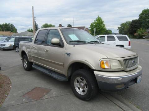 2001 Ford F-150 for sale at Car Link Auto Sales LLC in Marysville WA